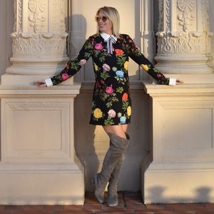 Reclaimed Vintage mod floral dress
